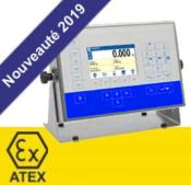 Indicateur de pesage HX5 pour usage en zone  ATEX