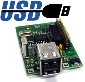 Option MS100 : CARTE SORTIE POUR CLE USB MS100xUSB