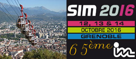 Salon SIM 2016 à Grenoble