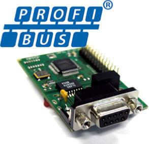 Option MS100 : CARTE PROFIBUS MS100xPBUS
